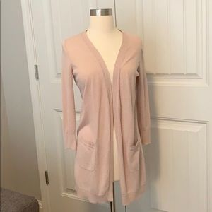 Halogen Blush Pink Cardigan XSP
